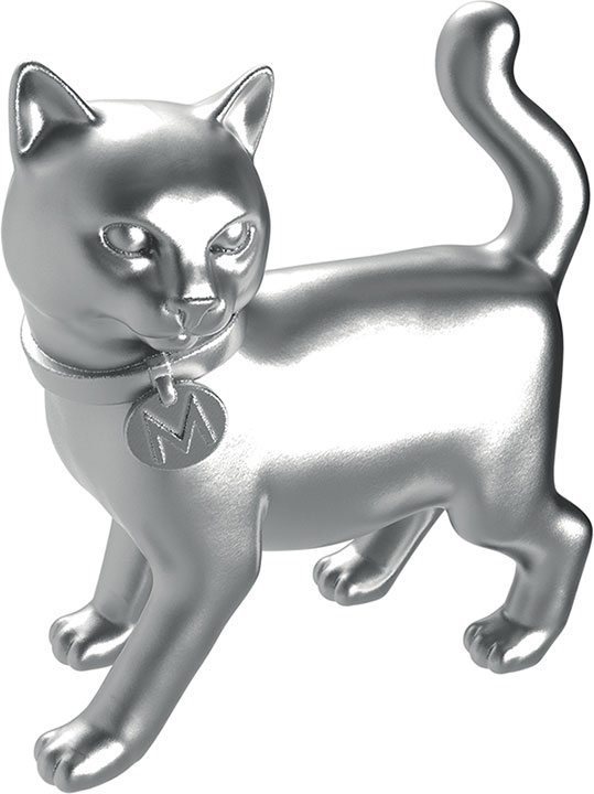 <div class='meta'><div class='origin-logo' data-origin='none'></div><span class='caption-text' data-credit='Monopoly'>The iconic cat will be featured as a token in the next generation of the game.</span></div>