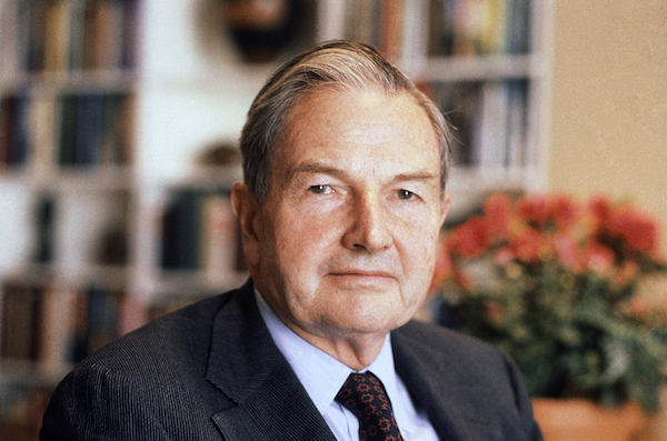 "<div class=""meta image-caption""><div class=""origin-logo origin-image wpvi""><span>wpvi</span></div><span class=""caption-text"">David Rockefeller, billionaire philanthropist, who was the last of his generation in the Rockefeller family died, Monday, March 20, 2017. (AP Photo/D. Pickoff, File)</span></div>"