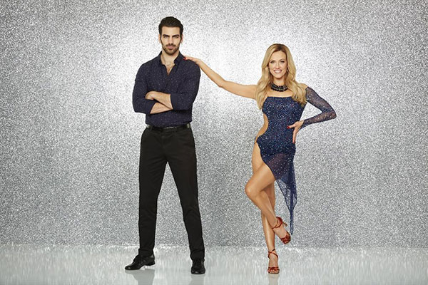 <div class='meta'><div class='origin-logo' data-origin='none'></div><span class='caption-text' data-credit='ABC Television Network'>Nyle DiMarco, the most recent ''America's Next Top Model'' winner and DWTS' first fully deaf contestant, poses with partner Peta Murgatroyd.</span></div>