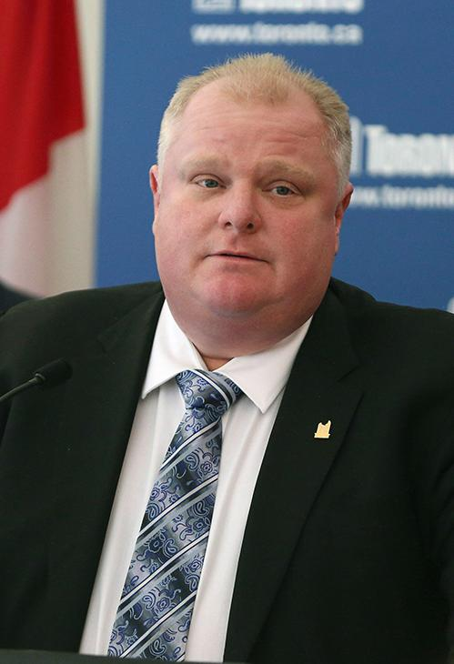 <div class='meta'><div class='origin-logo' data-origin='AP'></div><span class='caption-text' data-credit='Chris Young/The Canadian Press/AP'>Former Toronto mayor Rob Ford died on March 22 after fighting cancer. He was 46.</span></div>