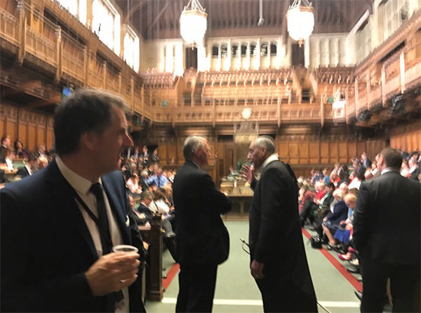 "<div class=""meta image-caption""><div class=""origin-logo origin-image none""><span>none</span></div><span class=""caption-text"">Parliament member Barry Sheerman posted this photo from inside the lock-down. (Barry Sheerman/Twitter)</span></div>"
