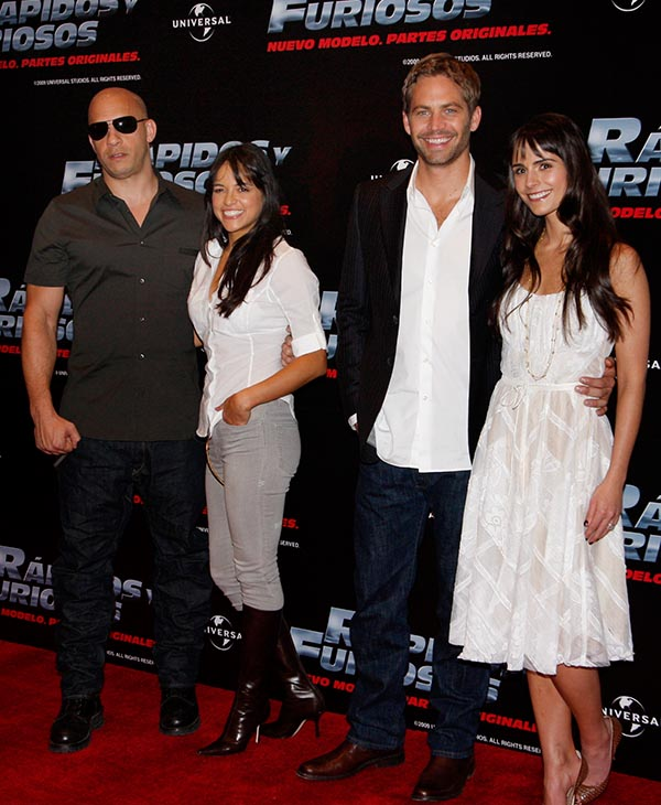 <div class='meta'><div class='origin-logo' data-origin='AP'></div><span class='caption-text' data-credit=''>Vin Diesel, Michelle Rodriguez, Paul Walker and Jordana Brewster promote their new film &#34;Fast and Furious&#34; in Mexico City, Friday, March 27, 2009.</span></div>