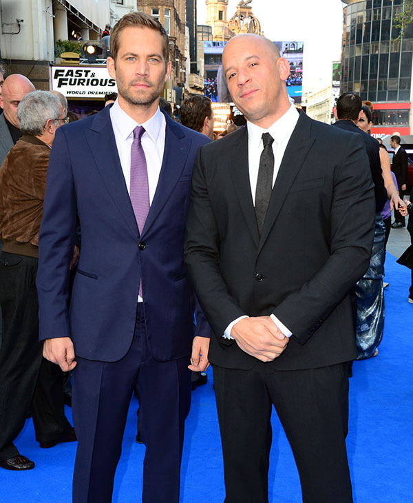 <div class='meta'><div class='origin-logo' data-origin='AP'></div><span class='caption-text' data-credit=''>Paul Walker and Vin Diesel at the World Premiere of Fast & Furious 6 in London on Tuesday, May 7th, 2013.</span></div>