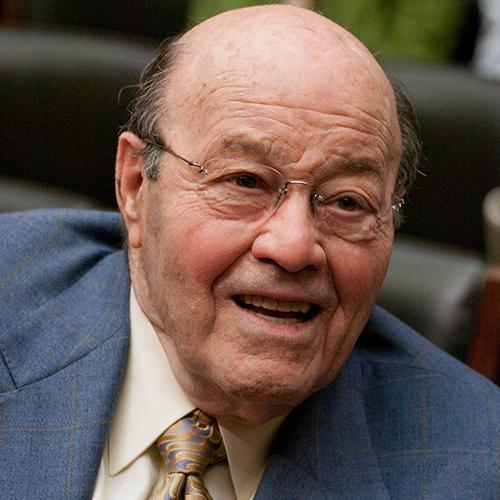 <div class='meta'><div class='origin-logo' data-origin='AP'></div><span class='caption-text' data-credit='Harry Hamburg/AP'>Announcer and former baseball player Joe Garagiola passed away on Wednesday. He was 90.</span></div>