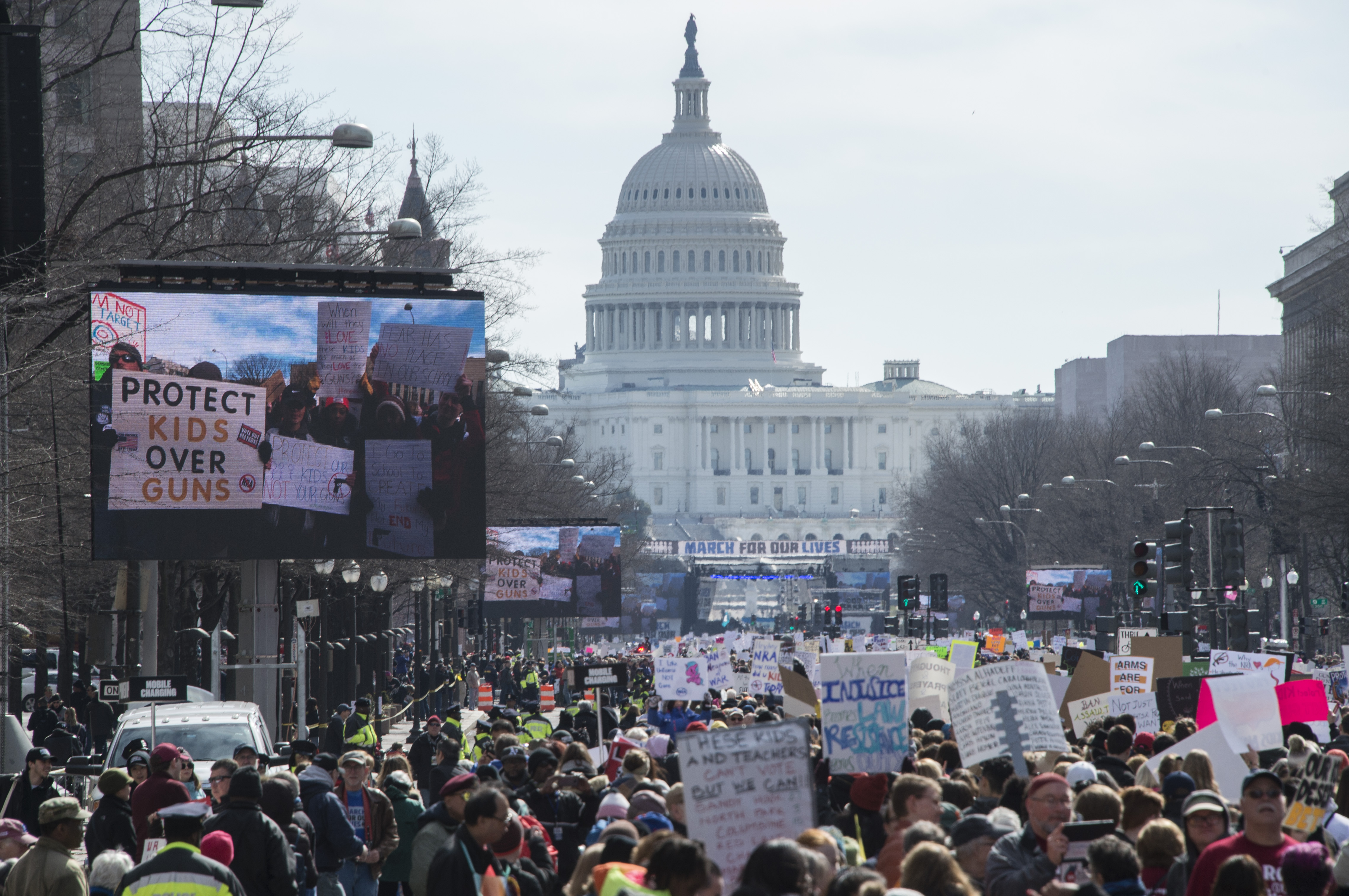 <div class='meta'><div class='origin-logo' data-origin='none'></div><span class='caption-text' data-credit='Andrew Caballero-Reynolds/AFP/Getty Images'>Participants take part in the March for Our Lives Rally in Washington, DC on March 24, 2018.</span></div>