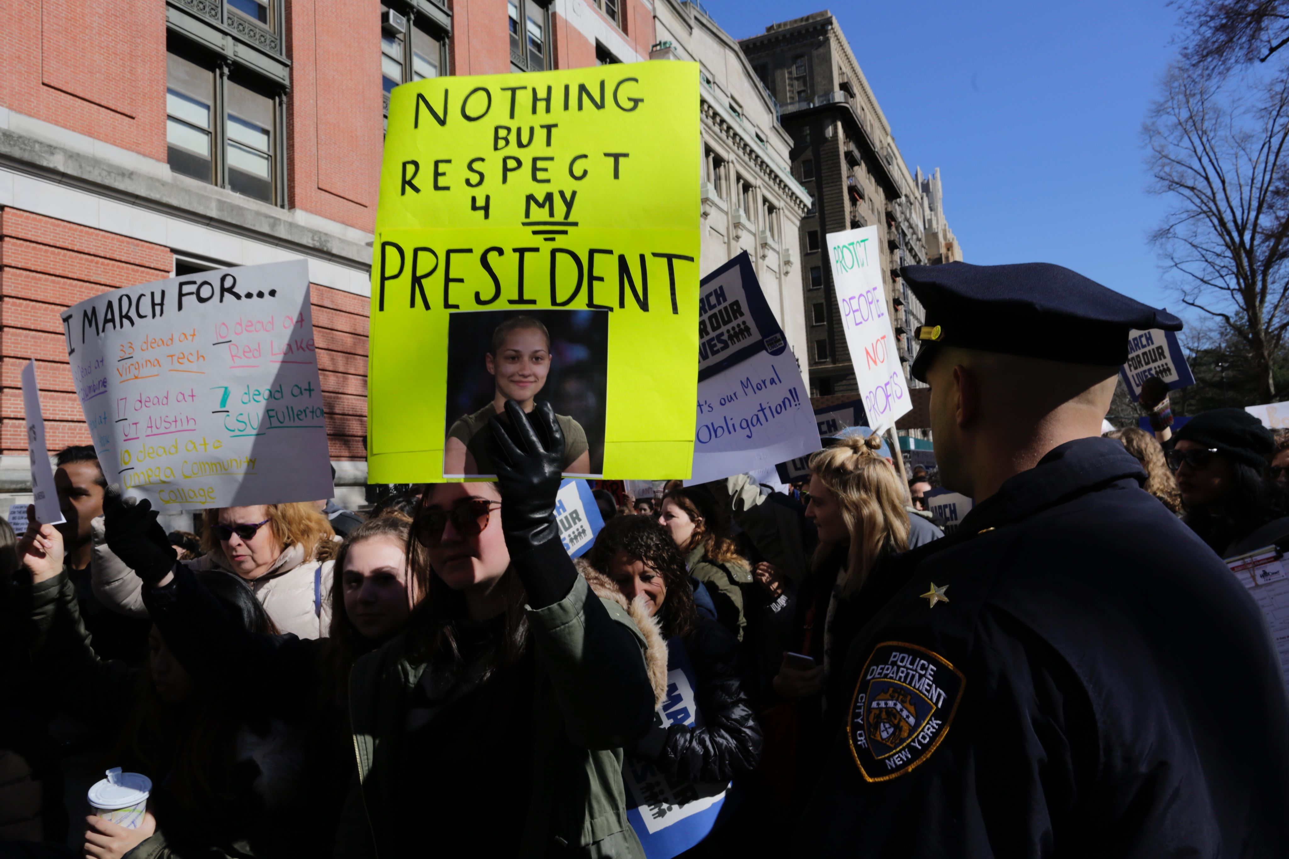 <div class='meta'><div class='origin-logo' data-origin='none'></div><span class='caption-text' data-credit='AFP/Getty Images'>Participants take part in the March for Our Lives Rally in New York on March 24, 2018.</span></div>