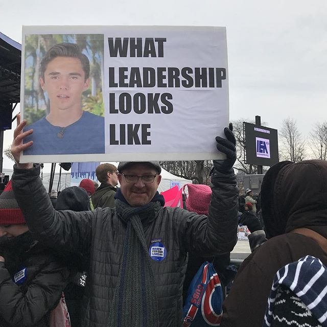 <div class='meta'><div class='origin-logo' data-origin='none'></div><span class='caption-text' data-credit='Barbara Becker/Instagram'>See the signs demonstrators are carrying at March for Our Lives events around the country.</span></div>