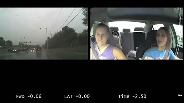 <div class='meta'><div class='origin-logo' data-origin='none'></div><span class='caption-text' data-credit='Photo/AAA'>A few seconds of distracted driving can have dramatic consquences, a video of dashcam footage shows. A new study suggests it's a bigger problem than we thought.</span></div>