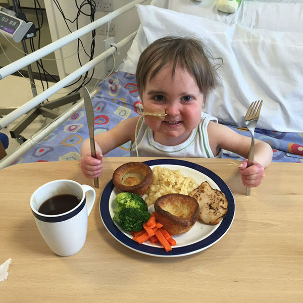 """<div class=""""meta image-caption""""><div class=""""origin-logo origin-image none""""><span>none</span></div><span class=""""caption-text"""">Lane says her son is happy, easy-going and cheeky. ''He's a character,'' she said. (Photo/Lane Family, ourlittlehero.wordpress.com)</span></div>"""