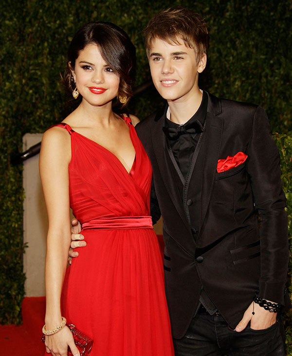 "<div class=""meta image-caption""><div class=""origin-logo origin-image ap""><span>AP</span></div><span class=""caption-text"">Selena Gomez and Justin Bieber arrives at the Vanity Fair Oscar Party at the Sunset Tower in Los Angeles, Calif., Sunday, Feb. 27, 2011.</span></div>"