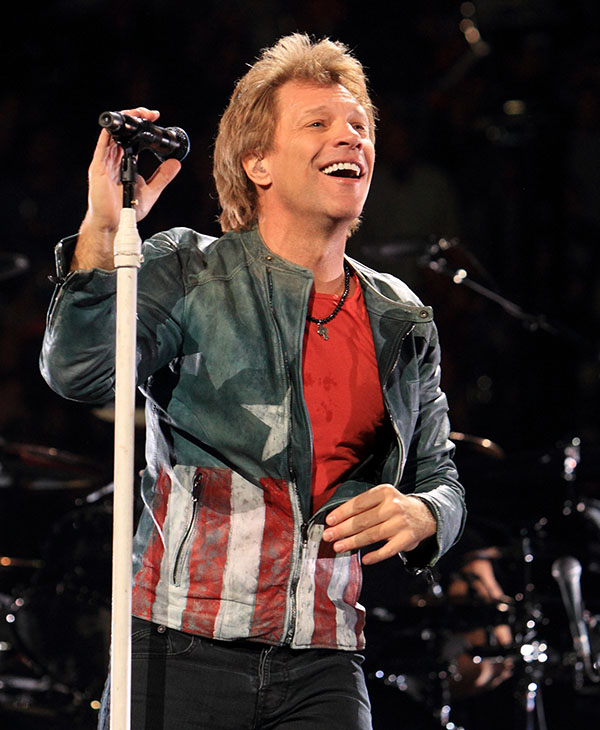<div class='meta'><div class='origin-logo' data-origin='AP'></div><span class='caption-text' data-credit=''>Jon Bon Jovi performs in concert with his band Bon Jovi on their Because We Can Tour 2013 on Tuesday, Nov. 5, 2013, in Philadelphia.</span></div>