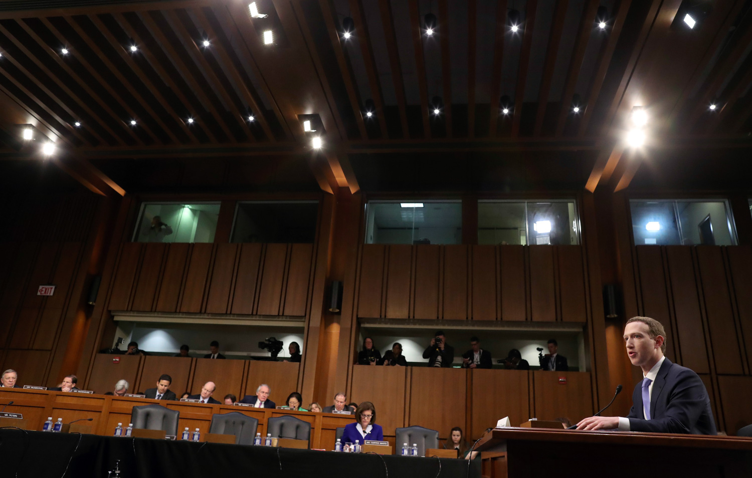<div class='meta'><div class='origin-logo' data-origin='none'></div><span class='caption-text' data-credit='Alex Brandon/AP Photo'>Facebook CEO Mark Zuckerberg testifies before a joint hearing of the Commerce and Judiciary Committees on Capitol Hill in Washington.</span></div>