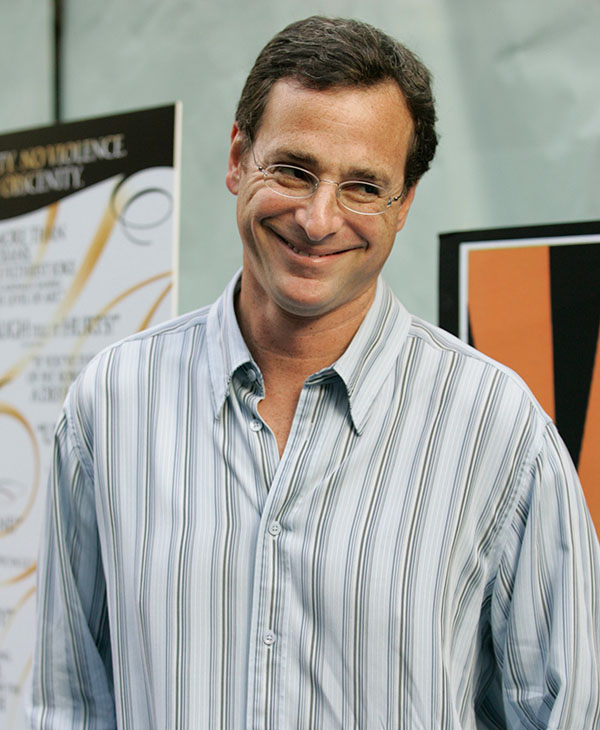 "<div class=""meta image-caption""><div class=""origin-logo origin-image ap""><span>AP</span></div><span class=""caption-text"">THEN: Actor/comedian Bob Saget arrives at the premiere of the film ""The Aristocrats"", Tuesday, July 26, 2005, in New York. (AP)</span></div>"
