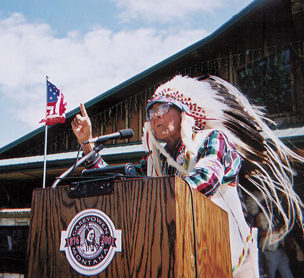 <div class='meta'><div class='origin-logo' data-origin='none'></div><span class='caption-text' data-credit='AP Photo/Beck Bohrer'>Joe Medicine Crow, the Native American historian who received a 2009 Presidential Medal of Freedom from President Barack Obama, died April 3 at age 102.</span></div>
