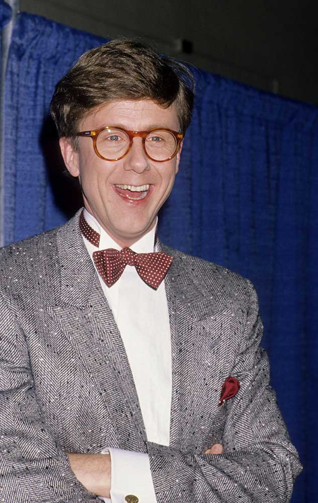 <div class='meta'><div class='origin-logo' data-origin='none'></div><span class='caption-text' data-credit='Ron Galella, Ltd. / Contributor via Getty'>Actor Harry Anderson (pictured in 1990) was found dead on April 16, 2018 at age 65. He was best known for the comedy series ''Night Court.''</span></div>