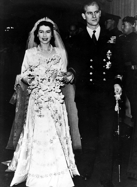 "<div class=""meta image-caption""><div class=""origin-logo origin-image none""><span>none</span></div><span class=""caption-text"">Britain's Princess Elizabeth leaves Westminster Abbey in London, with her husband, the Duke of Edinburgh, on November 20, 1947, after their wedding. (AP Photo)</span></div>"