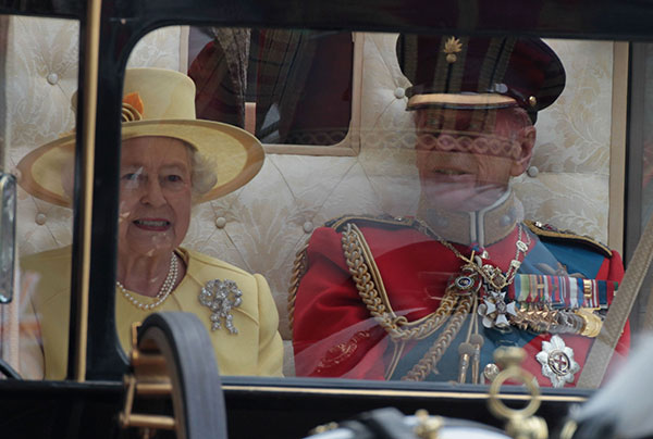 "<div class=""meta image-caption""><div class=""origin-logo origin-image none""><span>none</span></div><span class=""caption-text"">Queen Elizabeth II and Prince Philip, Duke of Edinburgh are pictured after the Royal Wedding of their grandson, Prince William, to Kate Middleton. (AP Photo/Matt Cardy, Pool)</span></div>"