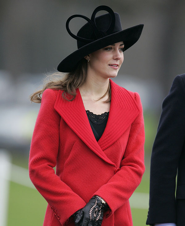 <div class='meta'><div class='origin-logo' data-origin='AP'></div><span class='caption-text' data-credit='AP'>Kate Middleton arrives at the Royal Military Academy, Sandhurst, where graduates, including the Prince, took part in the Sovereign's parade, Friday Dec. 15, 2006.</span></div>