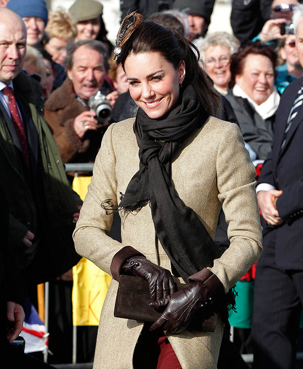 "<div class=""meta image-caption""><div class=""origin-logo origin-image ap""><span>AP</span></div><span class=""caption-text"">Kate Middleton arrives for a naming ceremony at Trearddur Bay Lifeboat Station in Anglesey, Wales, Thursday Feb. 24, 2011. (AP)</span></div>"