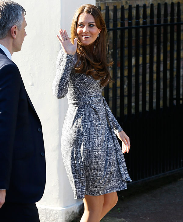 <div class='meta'><div class='origin-logo' data-origin='AP'></div><span class='caption-text' data-credit='AP'>Britain's Kate, The Duchess of Cambridge arrives at Hope House, in London, Tuesday, Feb. 19, 2013.</span></div>