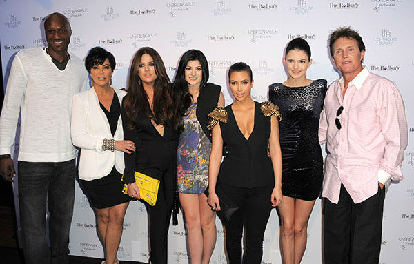 <div class='meta'><div class='origin-logo' data-origin='none'></div><span class='caption-text' data-credit='AP Photo/Jordan Strauss'>Members of the Kardashian family pose in 2011. From left to right: Lamar Odom, Kris Jenner, Khloe Kardashian, Kylie Jenner,  Kim Kardashian, Kendall Jenner and Bruce Jenner.</span></div>