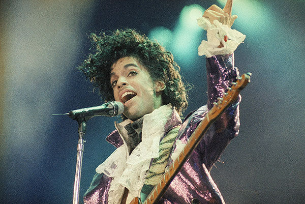<div class='meta'><div class='origin-logo' data-origin='none'></div><span class='caption-text' data-credit='Liu Heung Shing/AP Photo'>Rock singer Prince performs at the Forum in Inglewood, Calif., during his opening show, Feb. 18, 1985.</span></div>