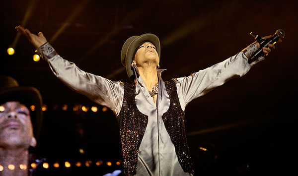 <div class='meta'><div class='origin-logo' data-origin='none'></div><span class='caption-text' data-credit='Polfoto/Jakob Joergensen/AP Photo'>Prince performs on the Isle of Amager in Copenhagen, Denmark in a concert that was interrupted by heavy rain in August 2011.</span></div>