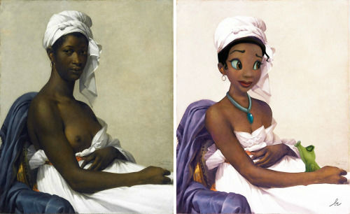 <div class='meta'><div class='origin-logo' data-origin='none'></div><span class='caption-text' data-credit='Photo/Benedicte Lacroix'>Tiana from ''Princess and the Frog'' in ''Portrait of a Black Woman'' by Marie-Guillemine Benoist</span></div>