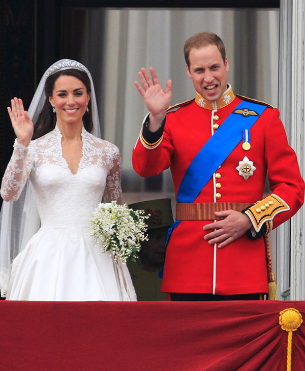"<div class=""meta image-caption""><div class=""origin-logo origin-image ap""><span>AP</span></div><span class=""caption-text"">Britain's Prince William and his wife Kate, Duchess of Cambridge wave from the balcony of Buckingham Palace after the Royal Wedding in London Friday, April, 29, 2011.  (AP)</span></div>"