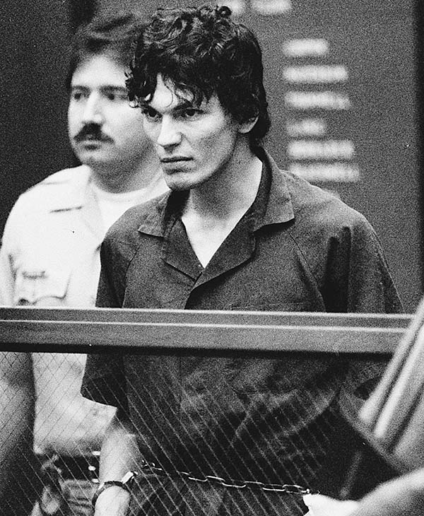 "<div class=""meta image-caption""><div class=""origin-logo origin-image ap""><span>AP</span></div><span class=""caption-text"">Richard Ramirez (The Night Stalker): Convicted in 1989 of 13 murders committed in California between 1984 and 1985. Died in 2013 awaiting execution.  (AP)</span></div>"