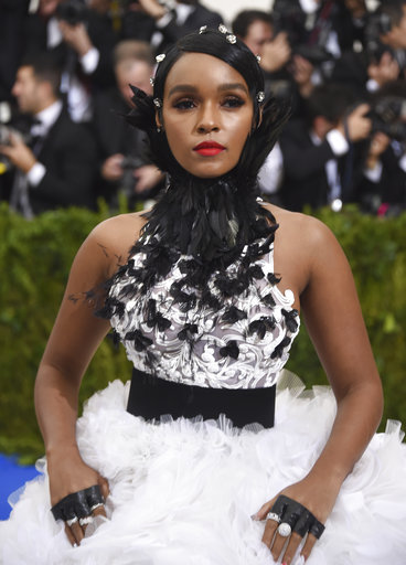 "<div class=""meta image-caption""><div class=""origin-logo origin-image ap""><span>AP</span></div><span class=""caption-text"">Janelle Monae attends The Metropolitan Museum of Art's Costume Institute benefit gala celebrating the opening of the Rei Kawakubo/Comme des Garçons: Art of the In-Between exhibit. (Evan Agostini/Invision/AP)</span></div>"