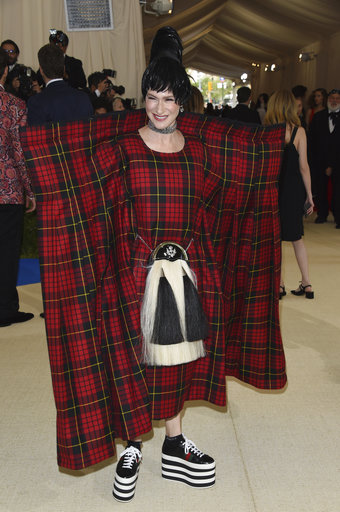 "<div class=""meta image-caption""><div class=""origin-logo origin-image ap""><span>AP</span></div><span class=""caption-text"">Julie Macklowe attends The Metropolitan Museum of Art's Costume Institute benefit gala celebrating the opening of the Rei Kawakubo/Comme des Garçons: Art of the In-Between exhibit (Evan Agostini/Invision/AP)</span></div>"