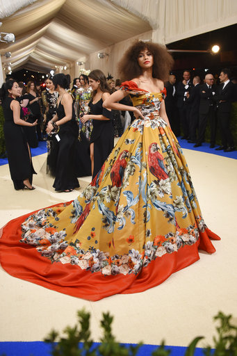 "<div class=""meta image-caption""><div class=""origin-logo origin-image ap""><span>AP</span></div><span class=""caption-text"">Zendaya attends The Metropolitan Museum of Art's Costume Institute benefit gala celebrating the opening of the Rei Kawakubo/Comme des Garçons: Art of the In-Between exhibit. (Evan Agostini/Invision/AP)</span></div>"