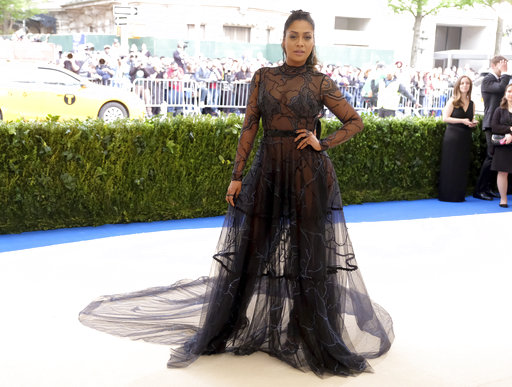 "<div class=""meta image-caption""><div class=""origin-logo origin-image ap""><span>AP</span></div><span class=""caption-text"">La La Anthony attends The Met Gala celebrating the opening of the Rei Kawakubo/Comme des Garçons: Art of the In-Between exhibit. (Charles Sykes/Invision/AP)</span></div>"