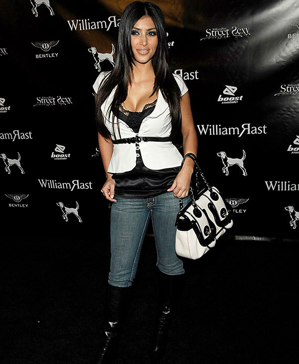 "<div class=""meta image-caption""><div class=""origin-logo origin-image none""><span>none</span></div><span class=""caption-text"">Kim Kardashian at the William Rast Fashion Show at the Social Hollywood nightclub in Los Angeles, Calif. on Tuesday, October 17, 2006. (AP)</span></div>"
