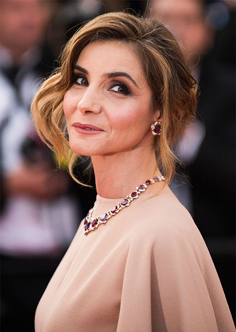 Clotilde Courau arrives for the opening ceremony and screening of the ...