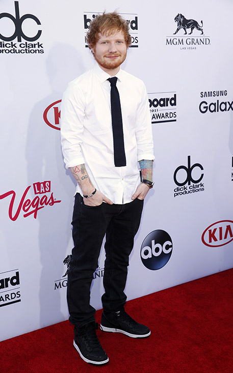 "<div class=""meta image-caption""><div class=""origin-logo origin-image ap""><span>AP</span></div><span class=""caption-text"">Ed Sheeran arrives at the Billboard Music Awards at the MGM Grand Garden Arena on Sunday, May 17, 2015, in Las Vegas. (AP)</span></div>"