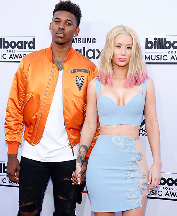 "<div class=""meta image-caption""><div class=""origin-logo origin-image ap""><span>AP</span></div><span class=""caption-text"">Nick Young, left, and Iggy Azalea arrive at the Billboard Music Awards at the MGM Grand Garden Arena on Sunday, May 17, 2015, in Las Vegas.  (AP)</span></div>"