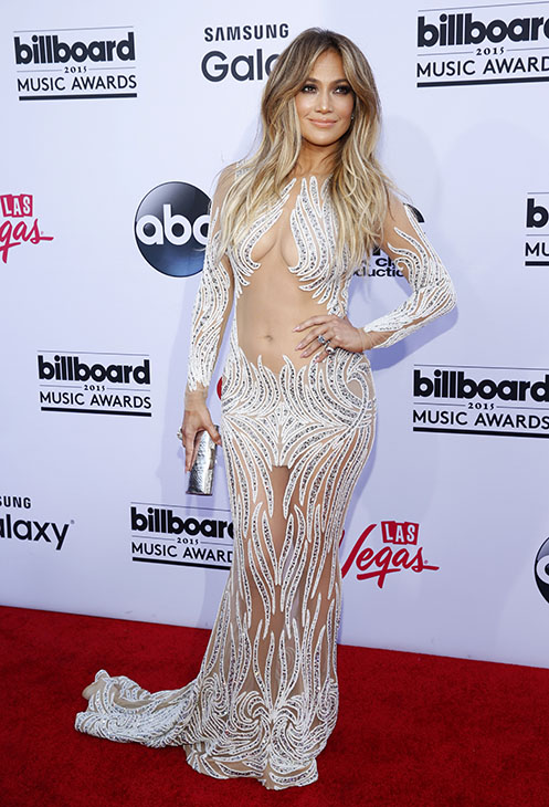 "<div class=""meta image-caption""><div class=""origin-logo origin-image ap""><span>AP</span></div><span class=""caption-text"">Jennifer Lopez arrives at the Billboard Music Awards at the MGM Grand Garden Arena on Sunday, May 17, 2015, in Las Vegas.  (AP)</span></div>"