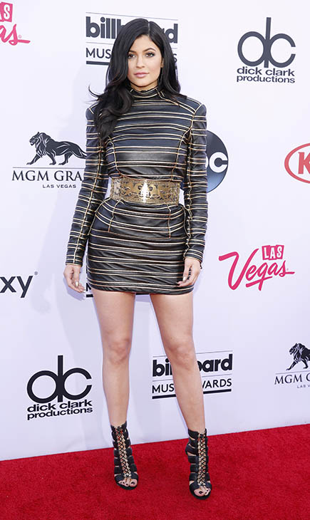 "<div class=""meta image-caption""><div class=""origin-logo origin-image ap""><span>AP</span></div><span class=""caption-text"">Kylie Jenner arrives at the Billboard Music Awards at the MGM Grand Garden Arena on Sunday, May 17, 2015, in Las Vegas. (AP)</span></div>"