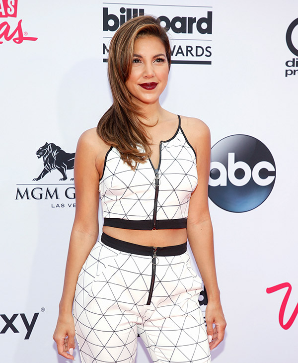 "<div class=""meta image-caption""><div class=""origin-logo origin-image ap""><span>AP</span></div><span class=""caption-text"">Liz Hernandez arrives at the Billboard Music Awards at the MGM Grand Garden Arena on Sunday, May 17, 2015, in Las Vegas. (AP)</span></div>"