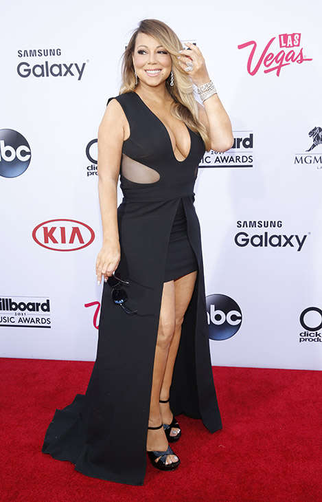 "<div class=""meta image-caption""><div class=""origin-logo origin-image ap""><span>AP</span></div><span class=""caption-text"">Mariah Carey arrives at the Billboard Music Awards at the MGM Grand Garden Arena on Sunday, May 17, 2015, in Las Vegas.  (AP)</span></div>"
