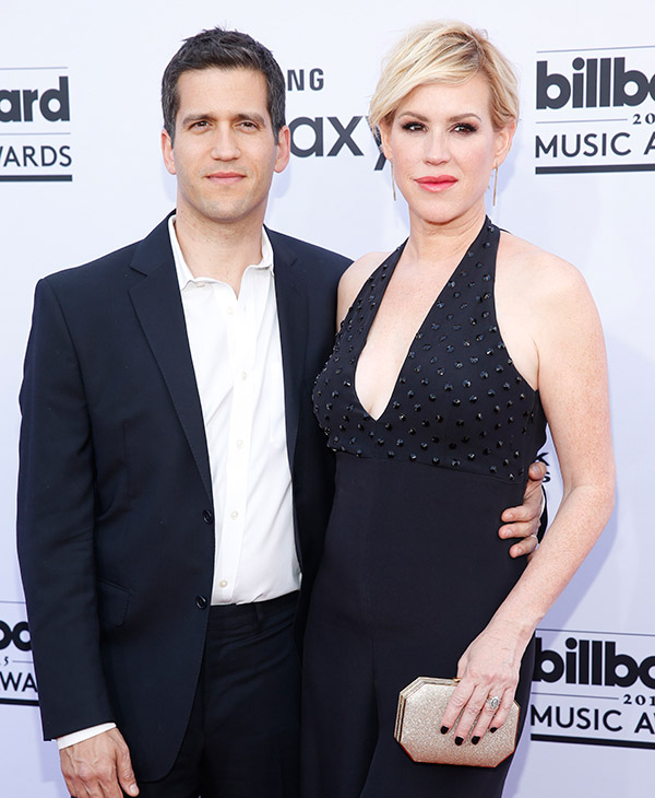 "<div class=""meta image-caption""><div class=""origin-logo origin-image ap""><span>AP</span></div><span class=""caption-text"">Panio Gianopoulos, left, and Molly Ringwald arrive at the Billboard Music Awards at the MGM Grand Garden Arena on Sunday, May 17, 2015, in Las Vegas. (AP)</span></div>"