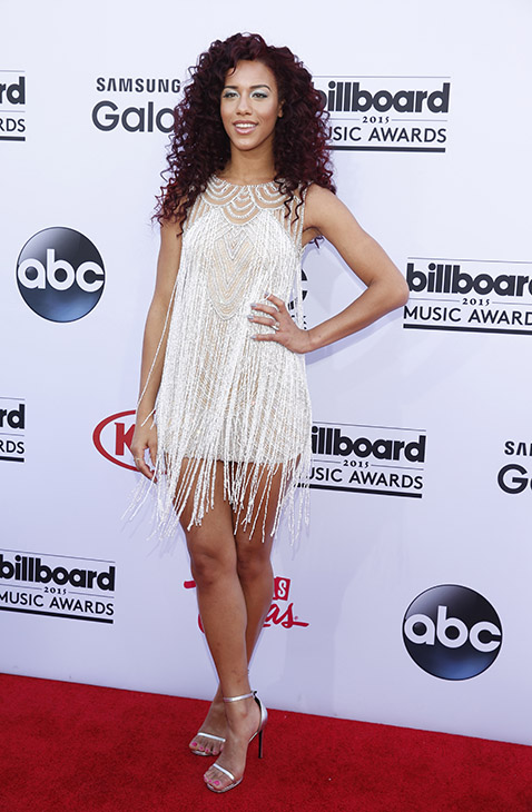 "<div class=""meta image-caption""><div class=""origin-logo origin-image ap""><span>AP</span></div><span class=""caption-text"">Natalie La Rose arrives at the Billboard Music Awards at the MGM Grand Garden Arena on Sunday, May 17, 2015, in Las Vegas. (AP)</span></div>"