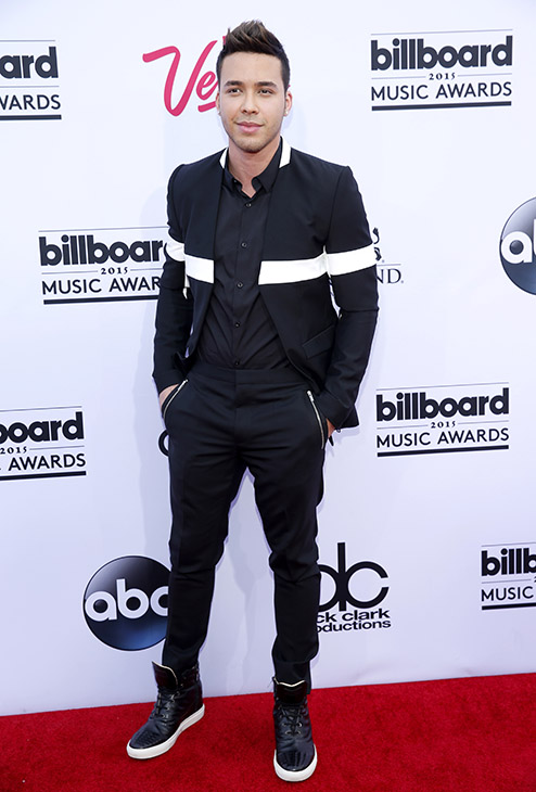 "<div class=""meta image-caption""><div class=""origin-logo origin-image ap""><span>AP</span></div><span class=""caption-text"">Prince Royce arrives at the Billboard Music Awards at the MGM Grand Garden Arena on Sunday, May 17, 2015, in Las Vegas. (AP)</span></div>"