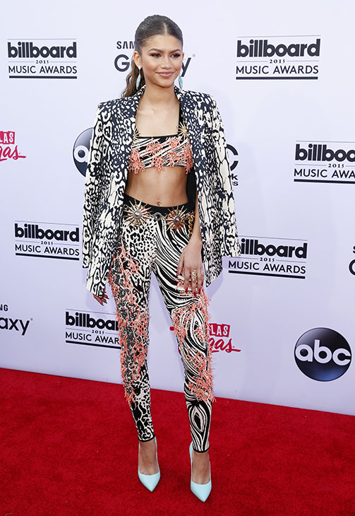 "<div class=""meta image-caption""><div class=""origin-logo origin-image ap""><span>AP</span></div><span class=""caption-text"">Zendaya arrives at the Billboard Music Awards at the MGM Grand Garden Arena on Sunday, May 17, 2015, in Las Vegas. (AP)</span></div>"
