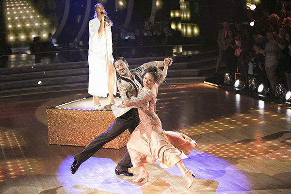 <div class='meta'><div class='origin-logo' data-origin='none'></div><span class='caption-text' data-credit='Adam Taylor/ABC'>Ginger and Val performed the quickstep for their partner dance, earning 29 out of 30.</span></div>