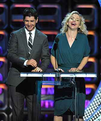 "<div class=""meta image-caption""><div class=""origin-logo origin-image kgo""><span>kgo</span></div><span class=""caption-text"">Michael Fishman and Alicia Goranson appear on stage at the Comedy Central ""Roast of Roseanne"" at the Hollywood Palladium on Saturday, Aug. 4, 2012, in Los Angeles. (John Shearer/Invision/AP)</span></div>"