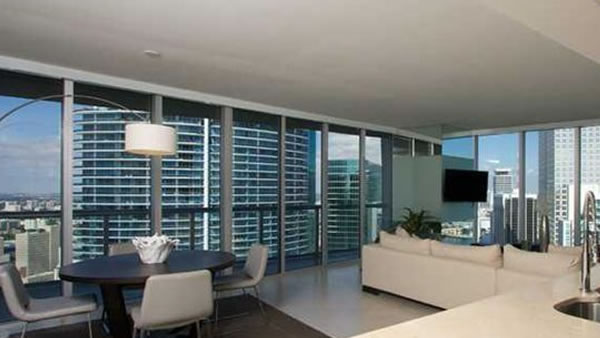 This two bedroom, two bathroom unit in Miami, Florida is listed for &#36;950,000. <span class=meta>(Global Real Estate Brokerage)</span>