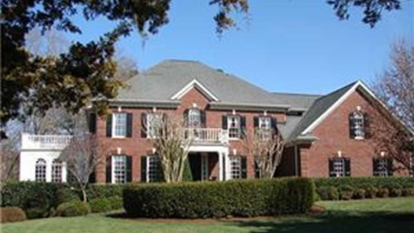 This beautiful Raleigh, North Carolina home has five bedrooms, six bathrooms and is listed as &#36;1 million. <span class=meta>(Fonville Morisey&#47;Brier Creek Sales Office )</span>